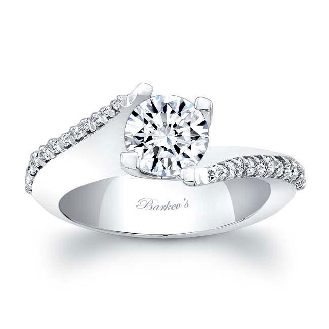 Moissanite Engagement Ring MOI-7928L