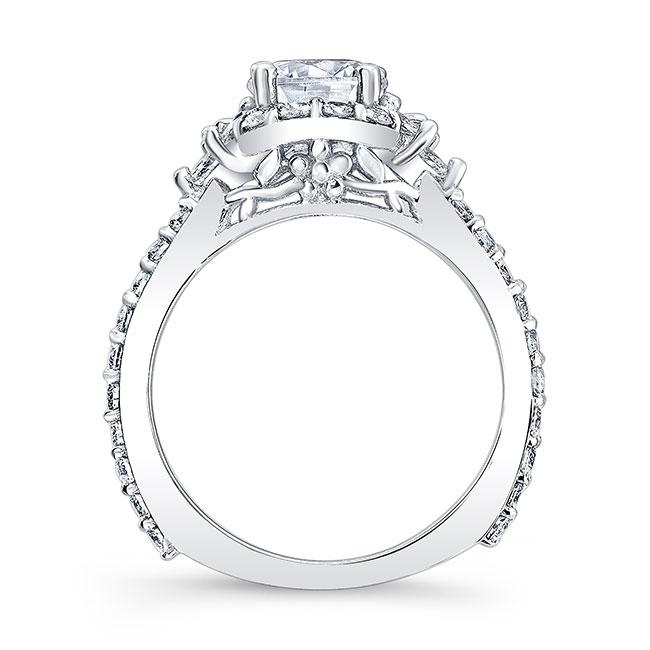1.00ct. Diamond Halo Engagement Ring 7930L Image 2
