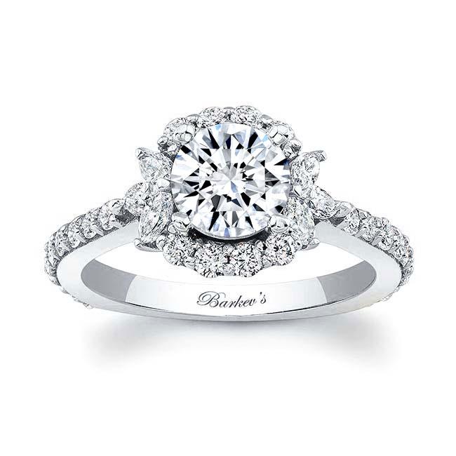 1.00ct. Diamond Halo Engagement Ring 7930L