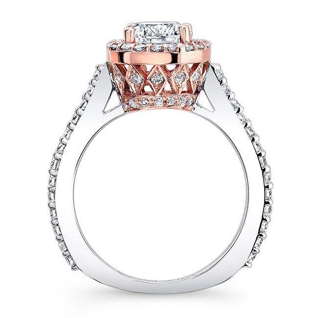 Halo Engagement Ring 7933L Image 2