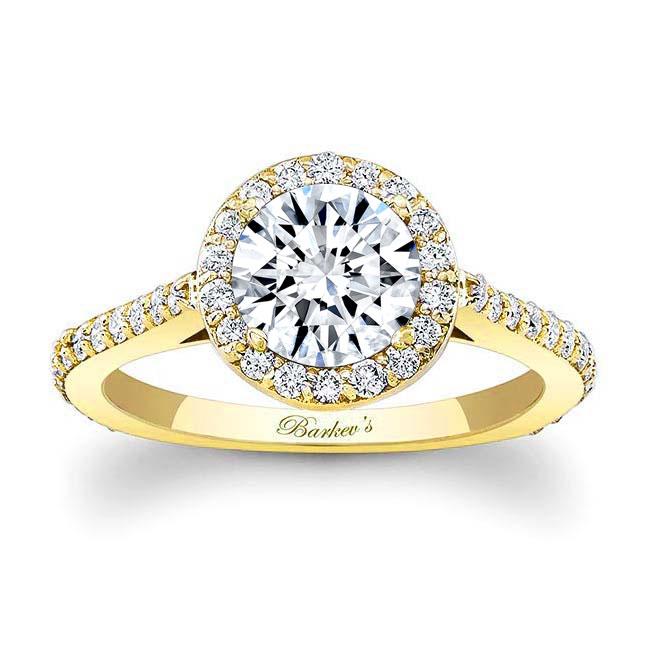 Halo Engagement Ring 7933L Image 1