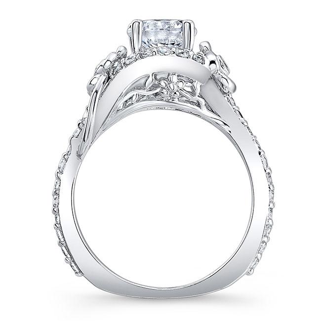 Flower Engagement Ring 7936L Image 2