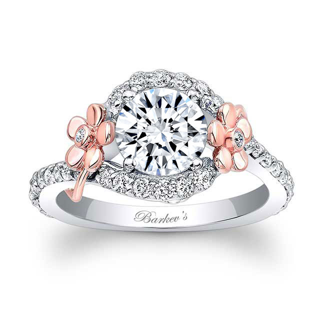 Flower Engagement Ring 7936L
