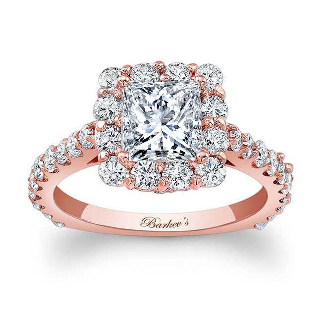 Princess Cut Engagement Ring 7939L