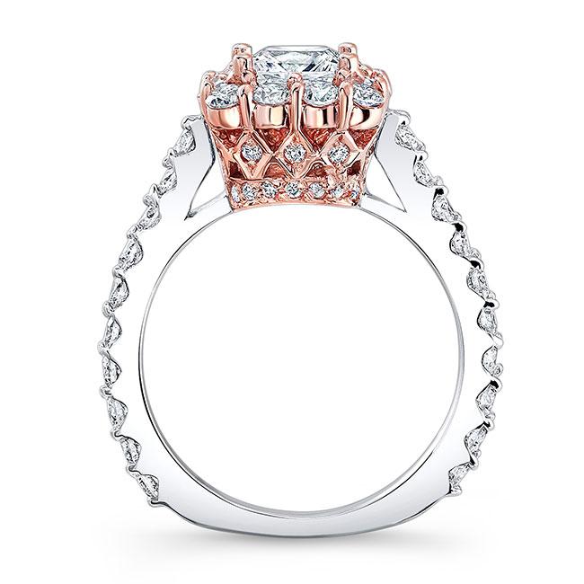 Princess Cut Engagement Ring 7939L Image 2