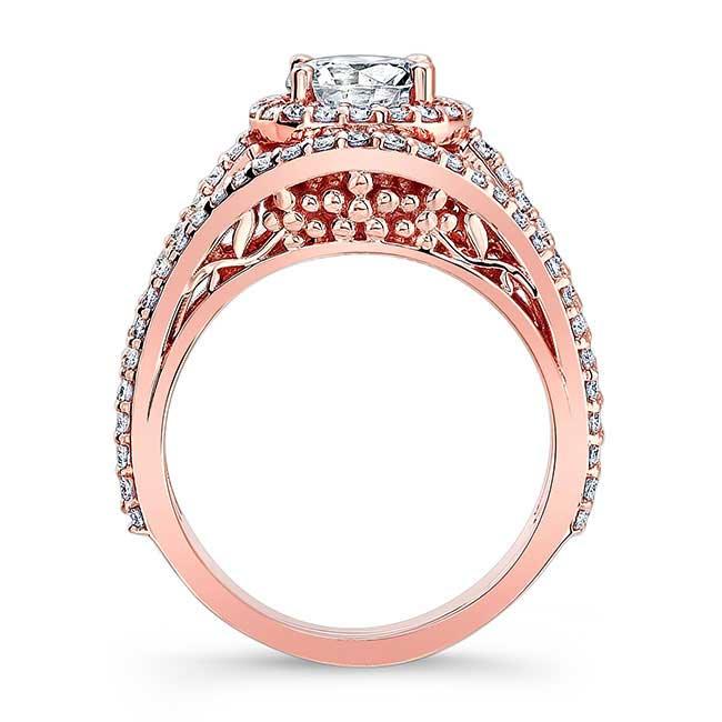 Moissanite Engagement Ring MOI-7941L Image 2