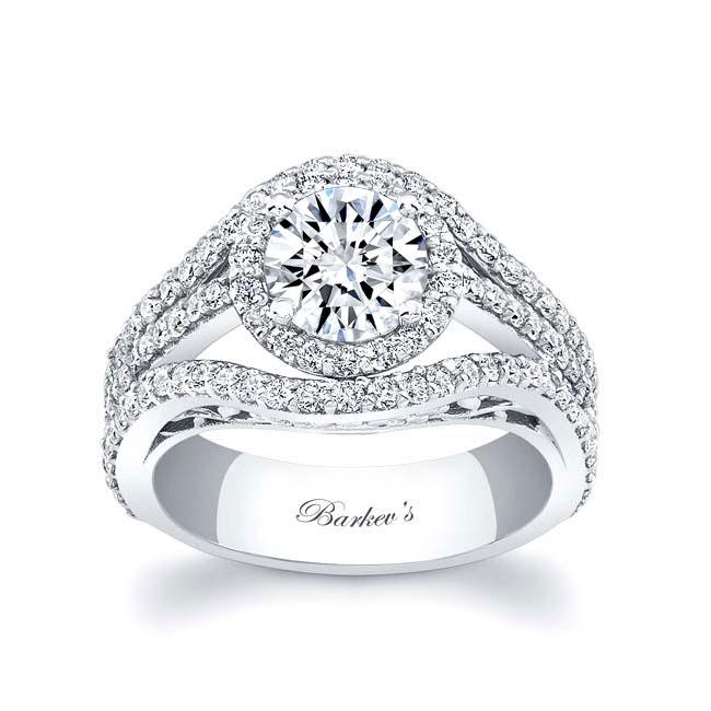 Moissanite Engagement Ring MOI-7941L