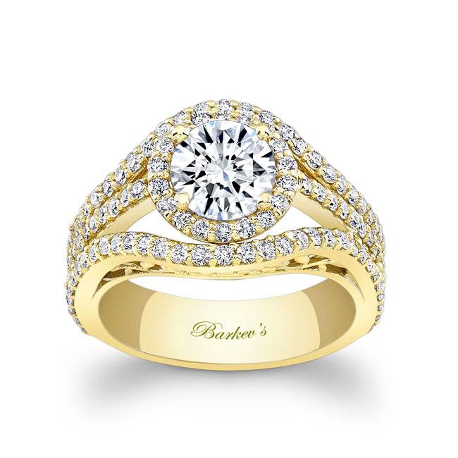 Moissanite Engagement Ring MOI-7941L Image 1