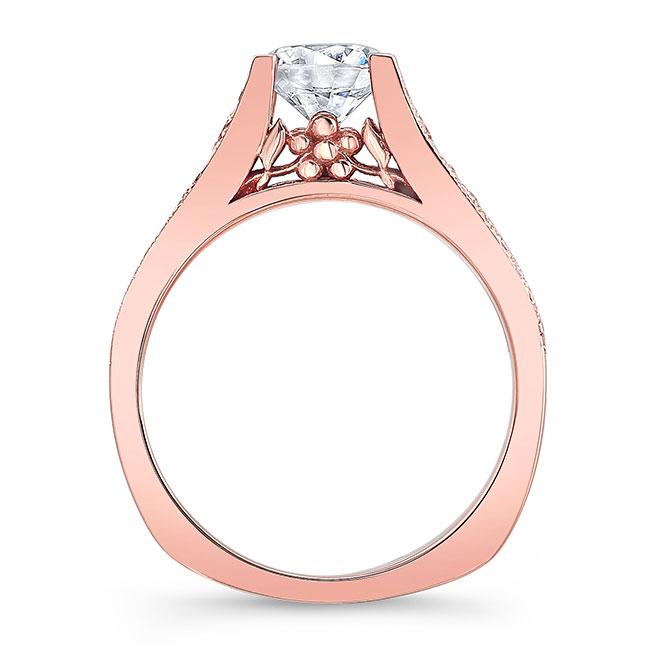 Moissanite Engagement Ring MOI-7944L Image 2