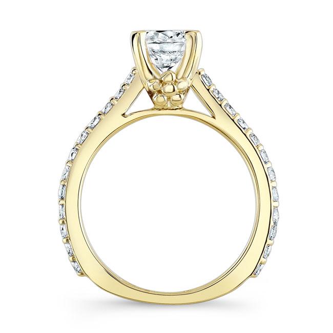 Moissanite Engagement Ring MOI-7946L Image 2