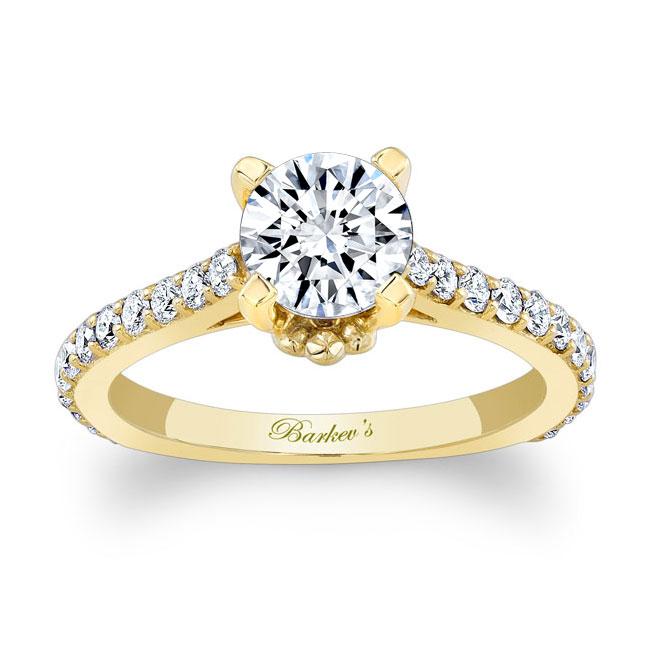 Moissanite Engagement Ring MOI-7946L Image 1