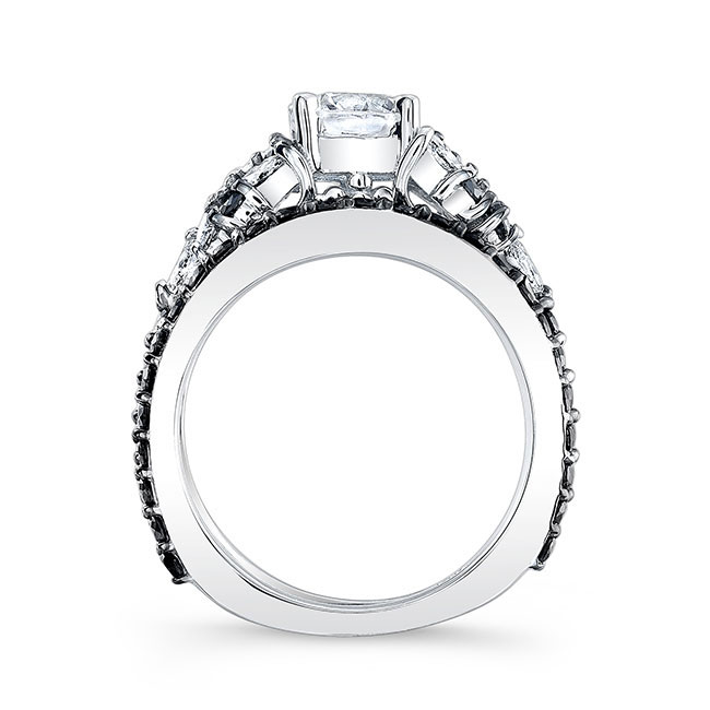 Black Diamond Bridal Set 7950SBK Image 2