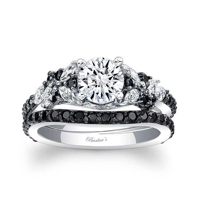 Black Diamond Bridal Set 7950SBK