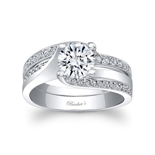 White Gold Bridal Set 7952S