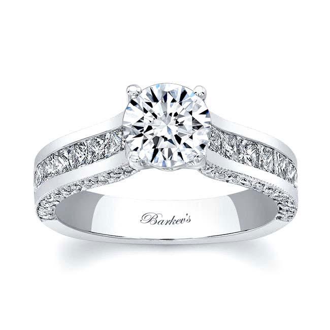 Moissanite Engagement Ring MOI-7956L