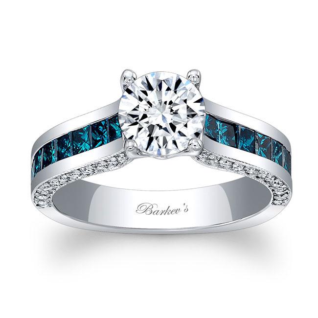 Blue Diamond Engagement Ring 7956LBD Image 1