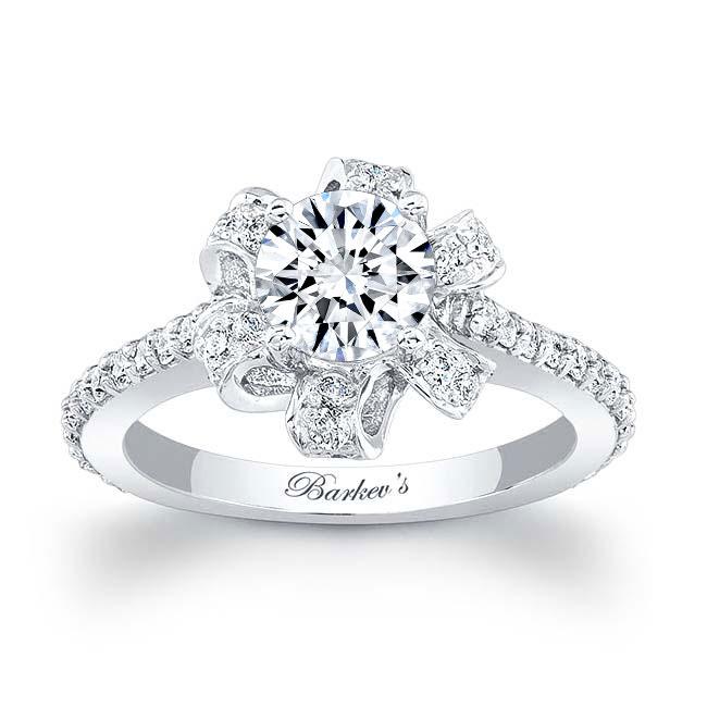 Moissanite Engagement Ring MOI-7958L