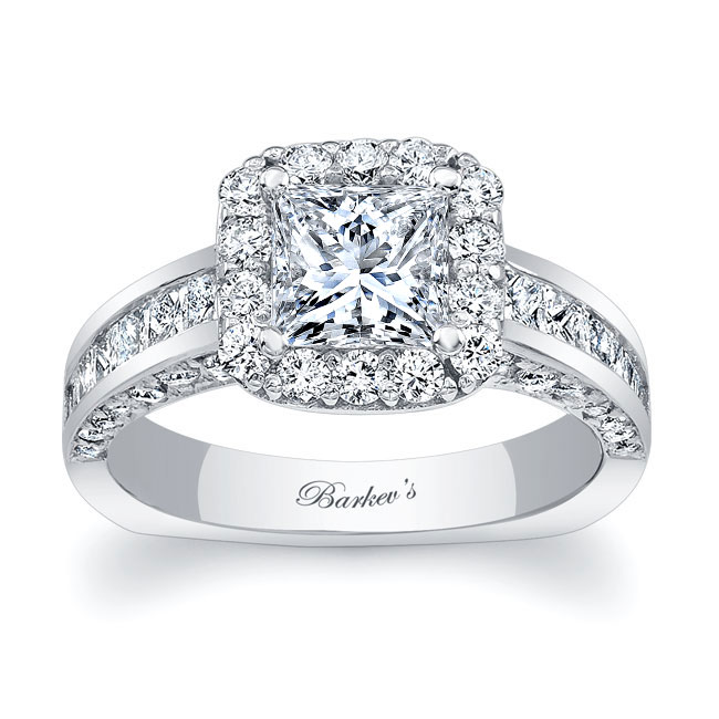 Princess Cut Engagement Ring 7959L