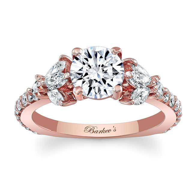 Unique Engagement Ring 7966L