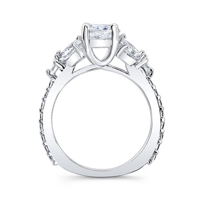 Unique Engagement Ring 7966L Image 2