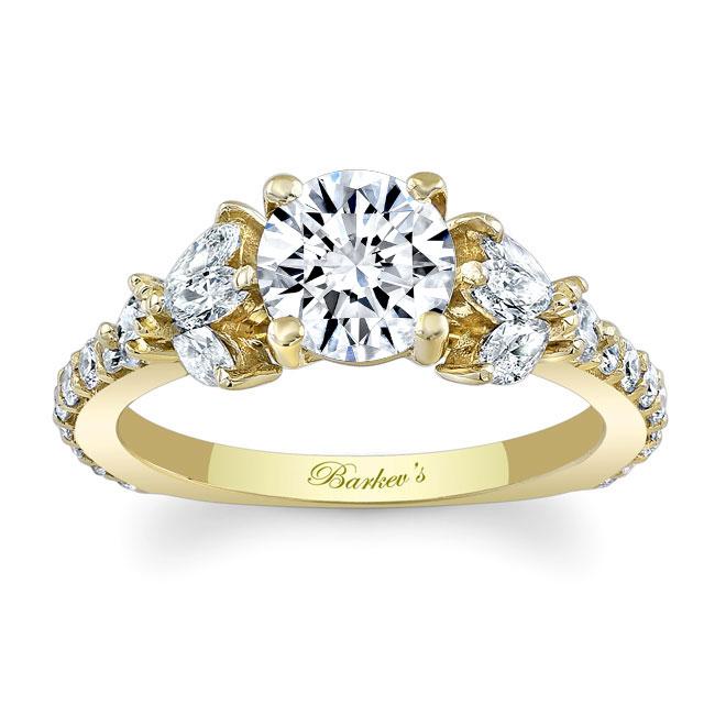 Unique Engagement Ring 7966L Image 1
