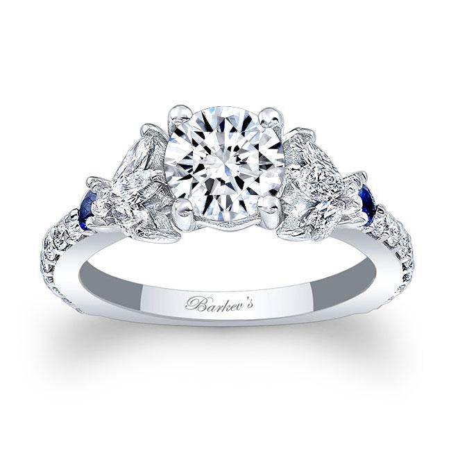 Unique Engagement Ring 7966LBS Image 1