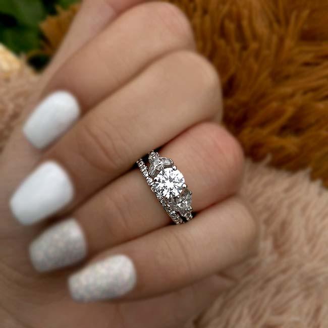 Unique Bridal Set 7966S Image 3