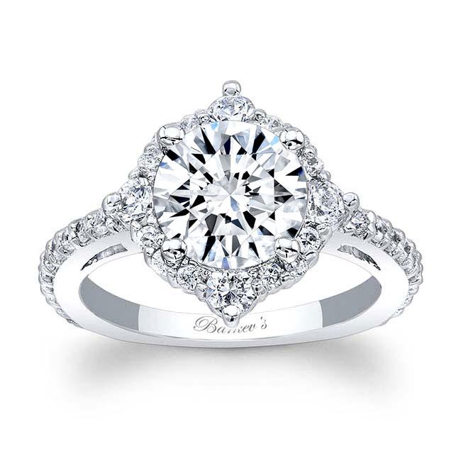 2 Carat Halo Diamond Ring