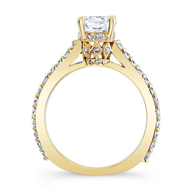 Moissanite Engagement Ring MOI-7971L Image 2