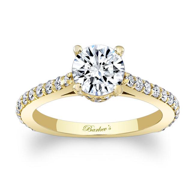 Moissanite Engagement Ring MOI-7971L Image 1