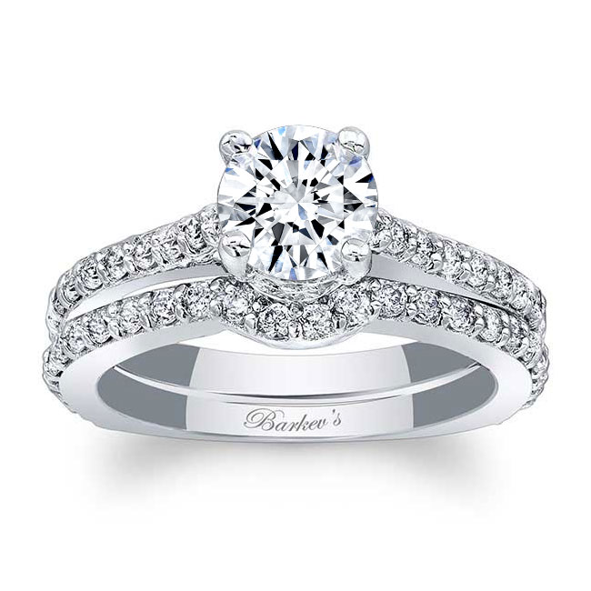 Diamond Bridal Set 7971S Image 1
