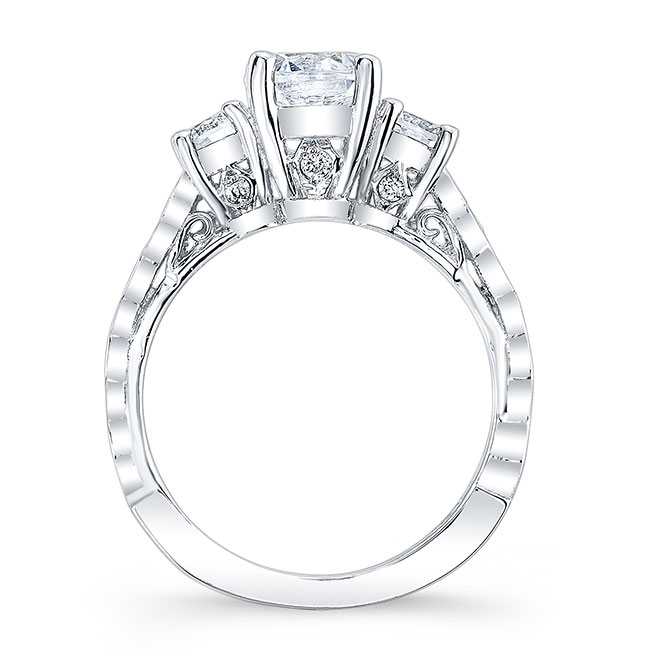 Unique Engagement Ring 7973L Image 2
