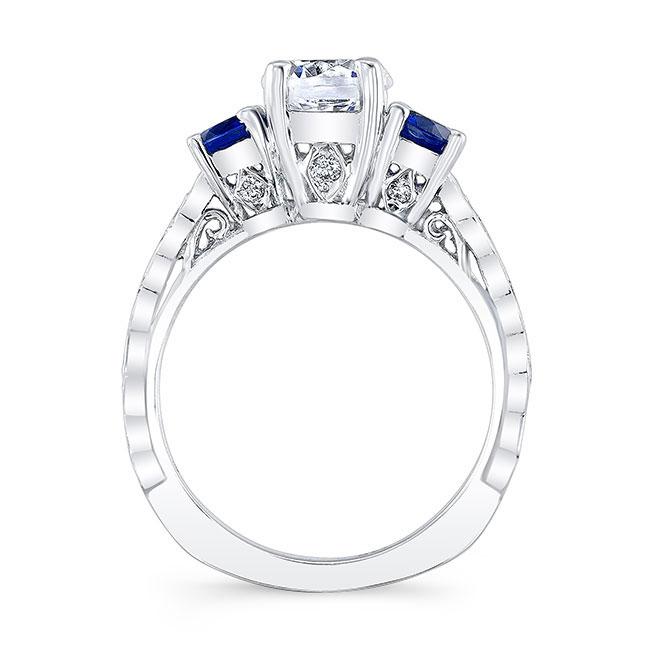 Blue Sapphire Bridal Set 7973S2BS Image 2