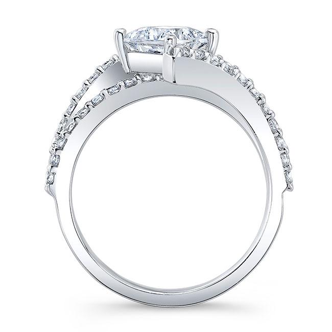 Kite Set Engagement Ring Image 2