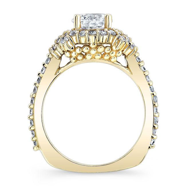 Diamond Cluster Ring Image 2