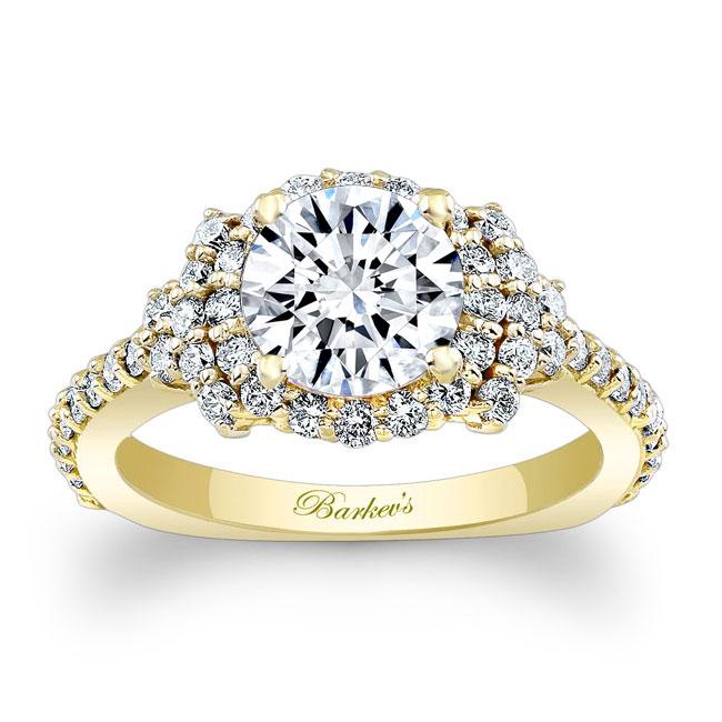 Diamond Cluster Ring Image 1