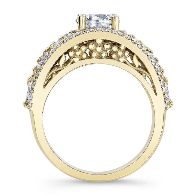 Moissanite Engagement Ring MOI-7980L Image 2