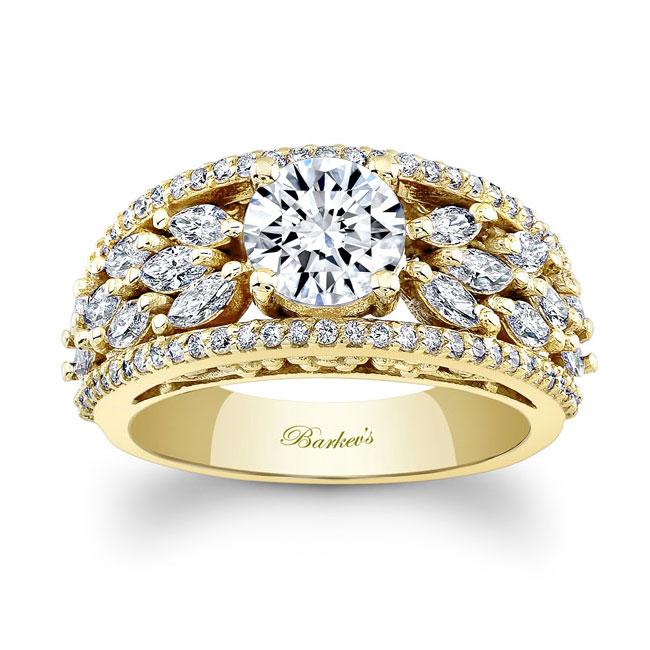 Moissanite Engagement Ring MOI-7980L Image 1