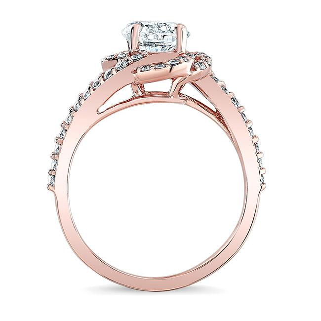 1.00ct. Round Unique Engagement Ring 7982L Image 2