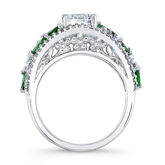 Tsavorite Engagement Ring 7984LTSV Image 2