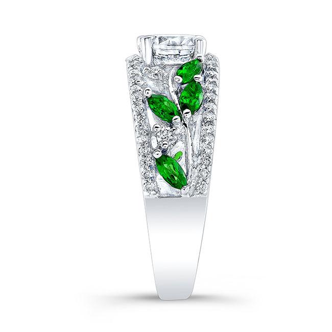 Tsavorite Engagement Ring 7984LTSV Image 3