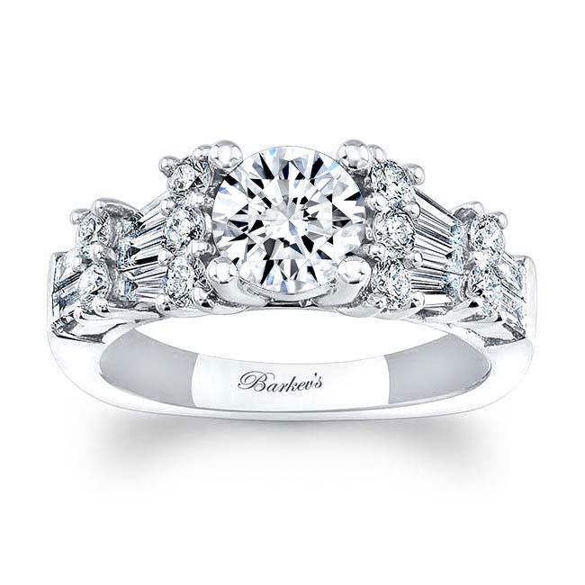 Moissanite Engagement Rings MOI-7985L