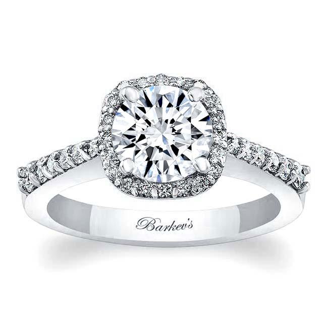 Moissanite Engagement Ring MOI-7986L