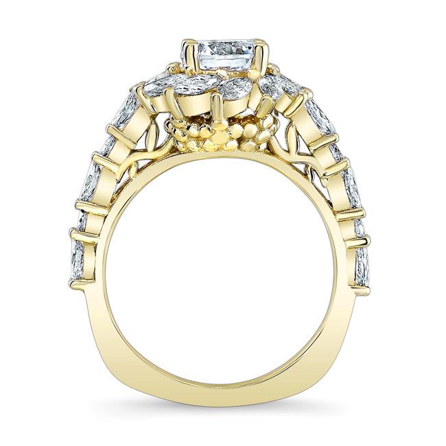 Sunflower Engagement Ring Image 2