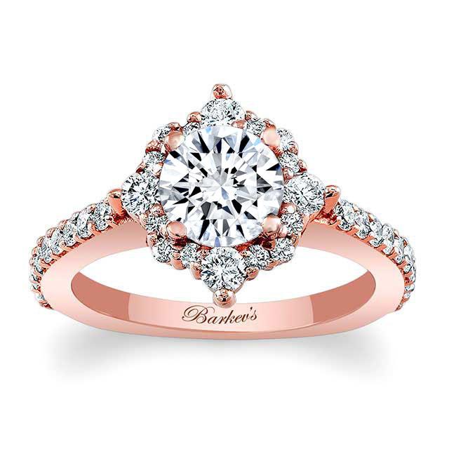Halo Diamond Engagement Ring 7995L