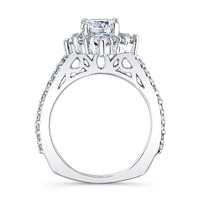 Halo Diamond Engagement Ring 7995L Image 2
