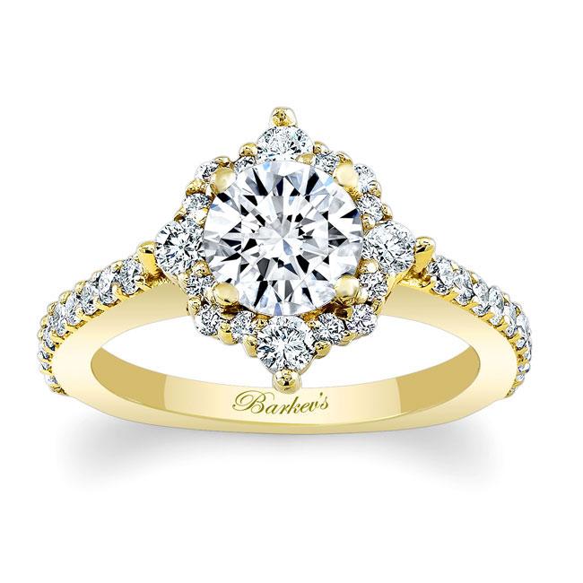 Halo Diamond Engagement Ring 7995L Image 1
