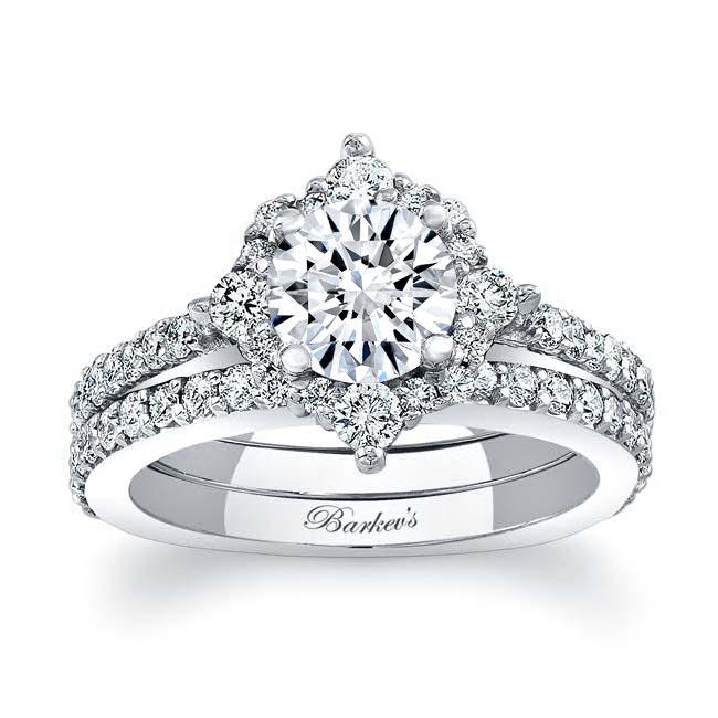 Halo Diamond Bridal Set 7995S