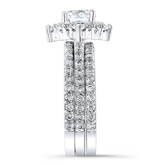 Halo Diamond Bridal Set 7995S2 Image 2