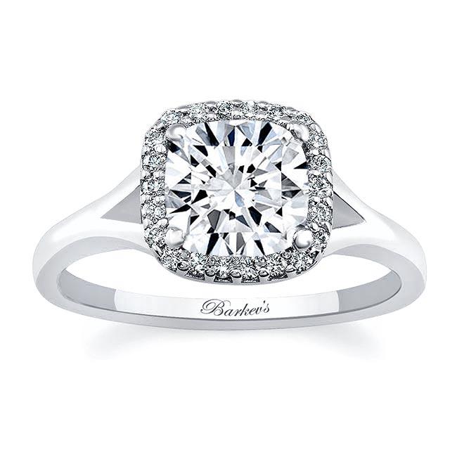 Cushion Cut Engagement Ring 7999L